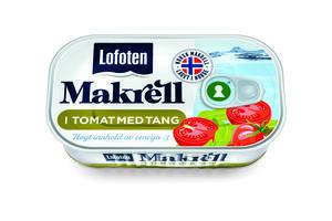 Makrell i tomat med tang fra Lofoten